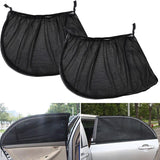 2Pcs Car Window Cover Sunshade Curtain - shopaholicsonlyco