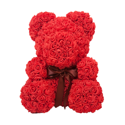 Valentines Rose Bear Bundle of 2 - shopaholicsonlyco