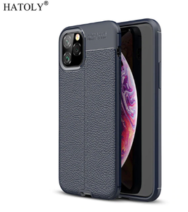 Shockproof Leather TPU Soft Cover For iPhone 11 Pro Max - shopaholicsonlyco