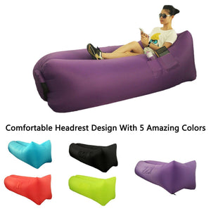 Inflatable Sofa Lazy Bed - shopaholicsonlyco