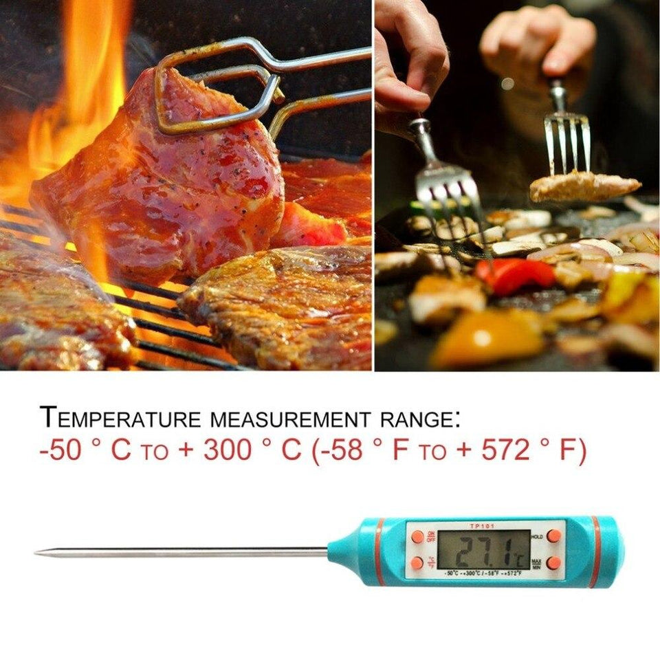 Digital Meat Thermometer - shopaholicsonlyco
