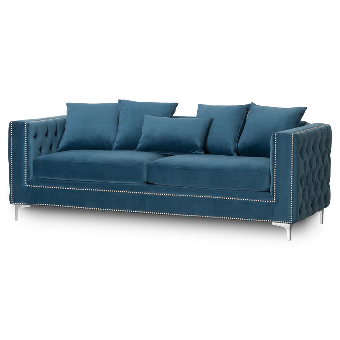 Nevada 3-Seater Button Pressed Sofa