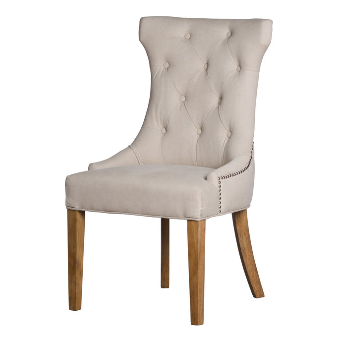 Limoges High Wing with Ring Back Dining Chair