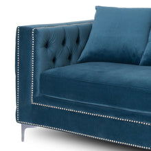 Load image into Gallery viewer, Darcy Three Seater Button Pressed Sofa