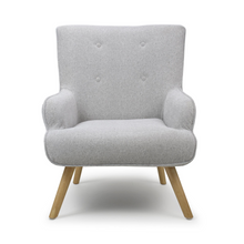 Load image into Gallery viewer, Halston Chenille Effect Armchair