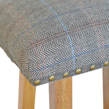 Load image into Gallery viewer, Multi Tweed Bar Stool