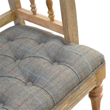 Load image into Gallery viewer, Lipman Multi Tweed Deep Button Bench