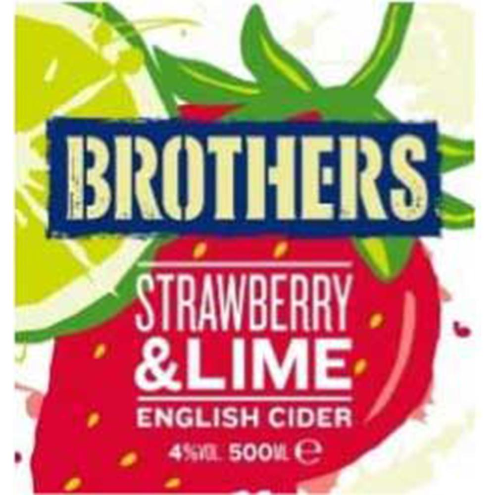 Brothers Strawberry & Lime