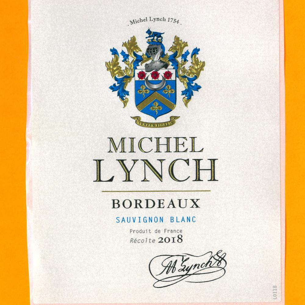 Michel Lynch AOC Bordeaux Sauvignon Blanc 2018
