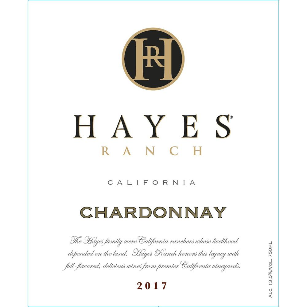 Hayes Ranch Cabernet Chardonnay California 2017