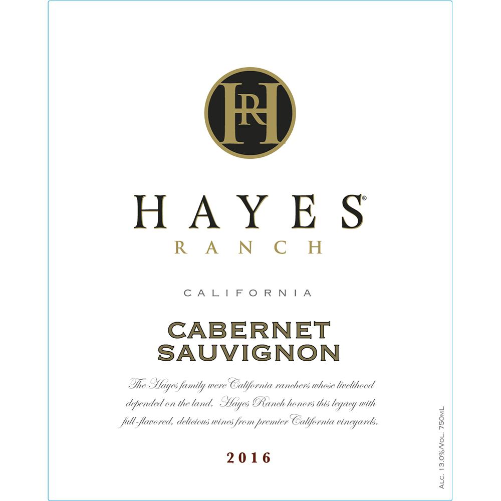 Hayes Ranch Cabernet Sauvignon California 2016