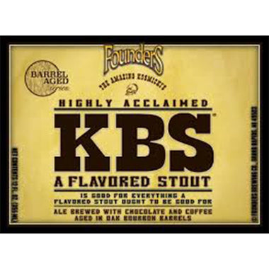 Kentucky Breakfast Stout (KBS)
