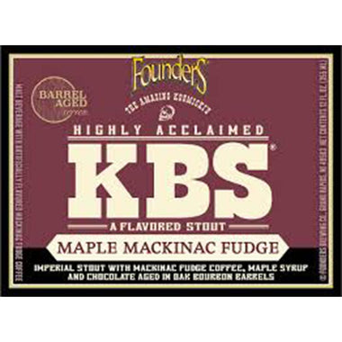 KBS Maple Mackinac Fudge