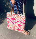 Handbag - cotton tote,beach bag