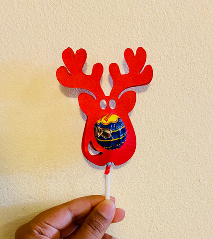 Lolli holders - Reindeer (Teacher's gifts,End of year gifts,Class gifts,Return gifts)