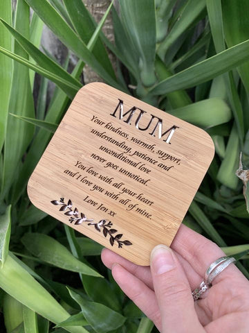 Coaster for mum