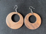 Halo rings - dangles - wood