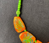 Necklaces -Eco friendly jewellery, Terracotta(Clay),Gifts for her, FREE SHIPPING