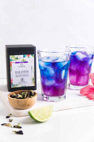 Colour changing Iced Tea (Handmade in Byron Bay,Australia)