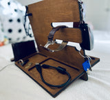 Docking station/Desk organiser ,Gifts for him