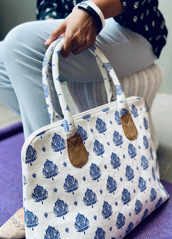 Whitescape - Canvas handbag
