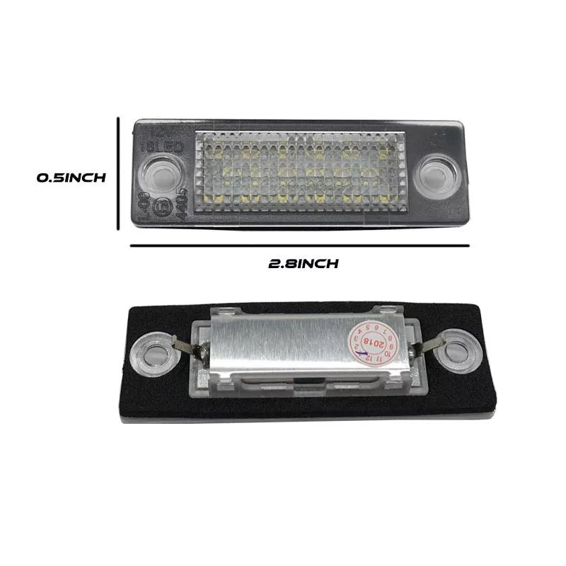 Volkswagen Caddy / Touran Canbus LED Number Licence Plate Lights unit