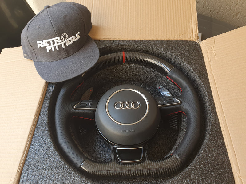 Carbon Fiber Steering Wheel Audi 8v