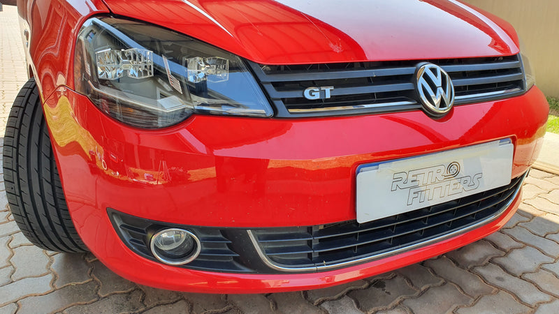 Volkswagen Polo 9n3 and vivo custom headlights