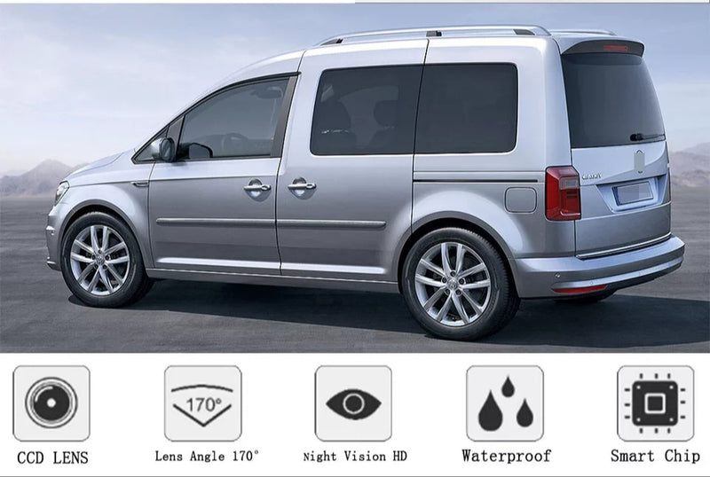 Volkswagen Caddy 2k handle reverse Camera
