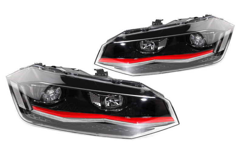Volkswagen Polo Aw Headlights OEM