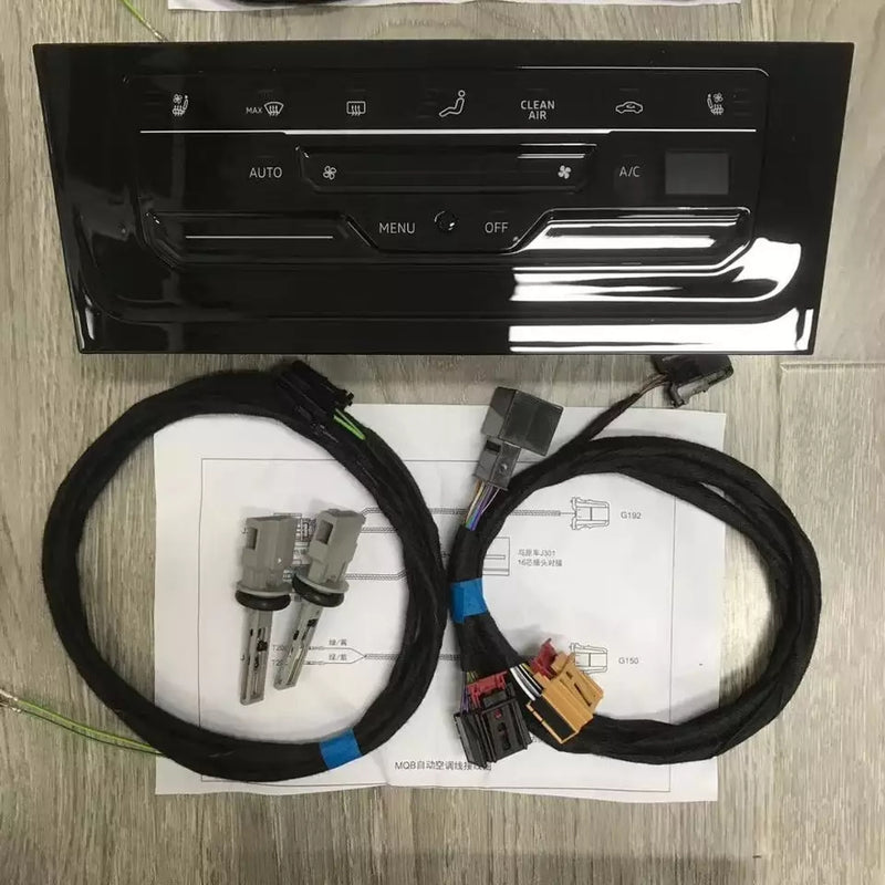 Volkswagen Upgrade LCD air conditioner switch