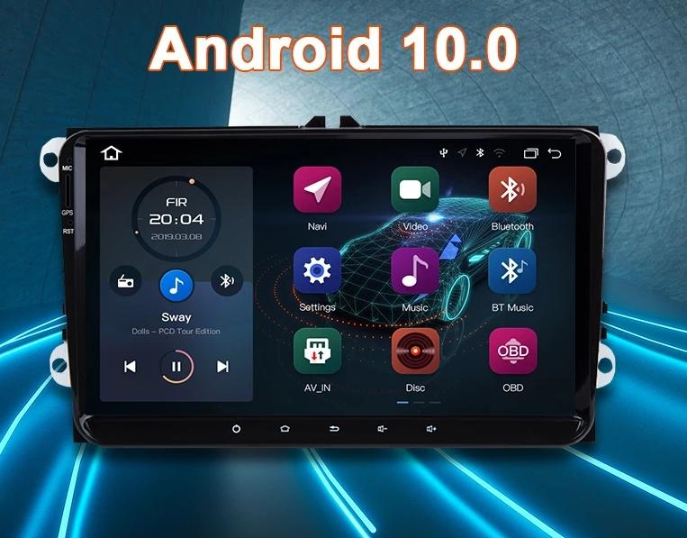 Volkswagen Golf/Jetta 5 6  CC Tiguan Polo Android  Radio Version 2