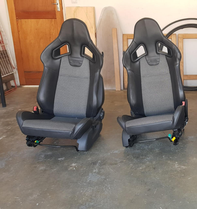 Opel Opc Recaro Oem Seats wingback (Sold as a Pair of two front seats)