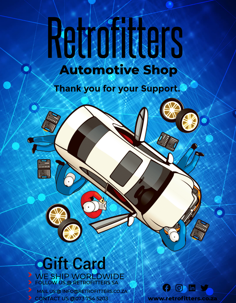 Retrofitters Gift Card