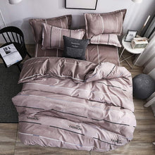 Load image into Gallery viewer, Reactive Printing Home bed set pillowcase duvet cover Bedding set flat sheet bedclothes 3 or 4pcs queen king Single full