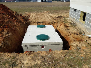 Conventional septic tank