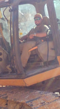 Load image into Gallery viewer, Kody Dodd owner of Dodd Construction operates excavator on job site