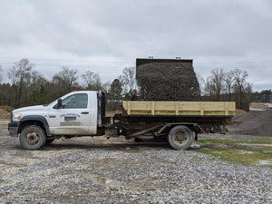 Small truck load of crusher run delivered to customer