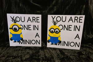 'You're One In A Minion' Greeting Card