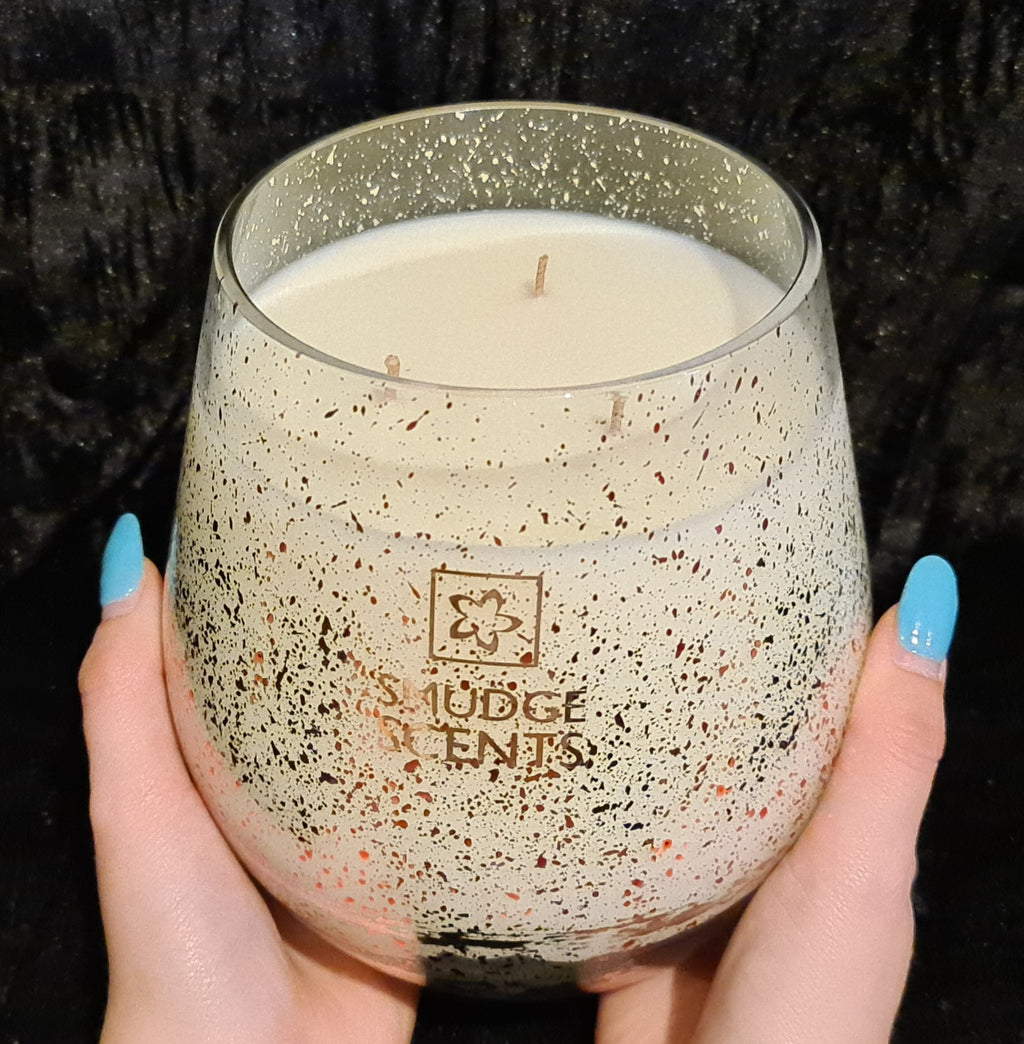 Jumbo 1.3kg Renee Rose Gold Candle