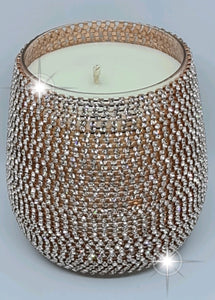 Renee Bling Rose Gold Candle