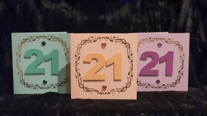 21st Greeting Cards