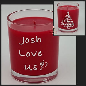 Christmas Tree Red Candle