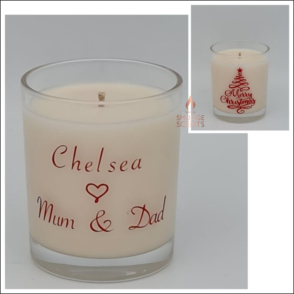 Christmas Tree White Candle