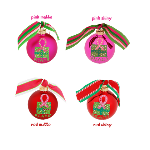 Hand-painted Holiday Ornaments