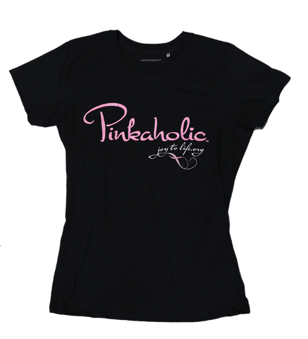 Pinkaholic Ladies Fitted Tee