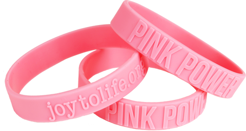 Wrist Bands: Pink Power