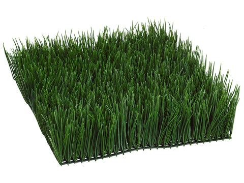 "4""Hx12""Wx12""L Wheat Grass Mat  Green (pack of 2)"