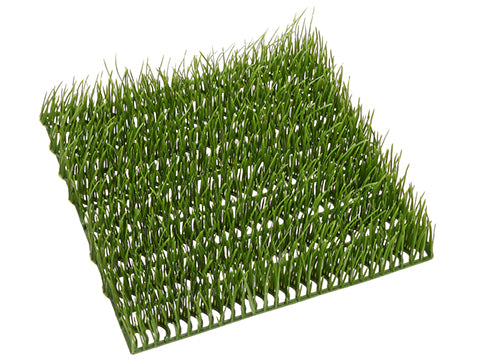 "9.5""Wx9.5""L Grass Mat  Light Green (pack of 12)"