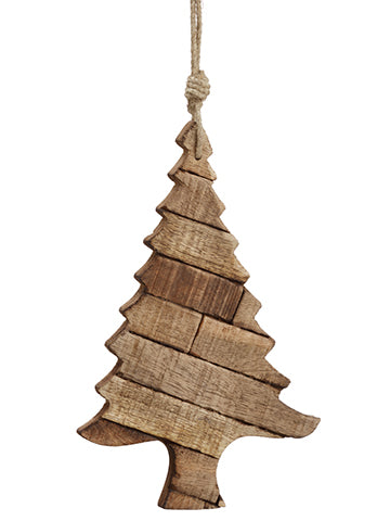 "9.5"" Tree Ornament  Brown (pack of 3)"